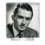 Gregory Peck Hollywood Actor Shower Curtain