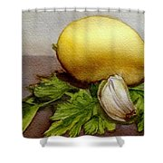 Gremolata Shower Curtain