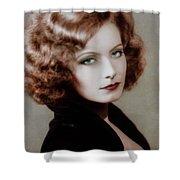 Gretta Garbo Shower Curtain