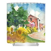 Greve In Chianti In Italy 01 Shower Curtain