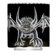 Grevil Pastel Shower Curtain