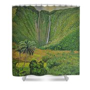 Grey Day Shower Curtain