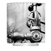 Grey Governor Shower Curtain