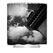 Vientiane Sky Shower Curtain