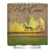Greys On Course Shower Curtain
