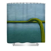 Gridiron Shower Curtain