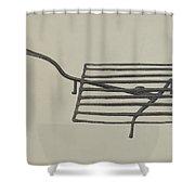 Gridiron Shower Curtain