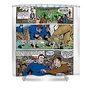 Gridiron The Beginning Page One Shower Curtain