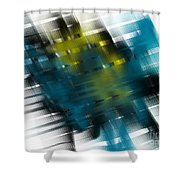 Gridlock Shower Curtain