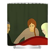 Grief Shower Curtain