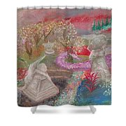 Grief's Paths Shower Curtain