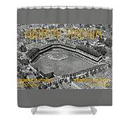 Griffith Stadium Shower Curtain