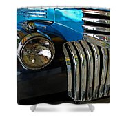 Grill Work Shower Curtain