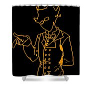 Grillby Shower Curtain