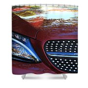 Grille  And Headlight  Shower Curtain