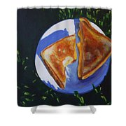 Grilled Cheese Picnic Shower Curtain