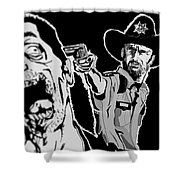 Grimes Reaper Shower Curtain
