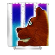 Grin And Bear It Shower Curtain