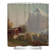 Grindelwald Shower Curtain