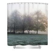Grings Mill Fog 15-016 Shower Curtain