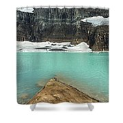 Grinnell And Salamander Glaciers Shower Curtain by Jemmy Archer