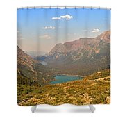 Grinnell Glacier Trail Glacier National Park Shower Curtain