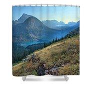 Grinnell Glacier Trail Hiker Shower Curtain