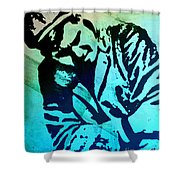 Grip Of Pain Shower Curtain