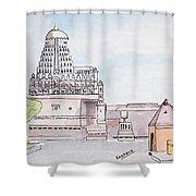 Grishneshwar Jyotirling Shower Curtain
