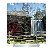 Grist Mill 5 Shower Curtain