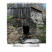 Grist Mill At Moore State Park Shower Curtain