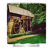 Gristmill - Charlottesville Virginia Shower Curtain