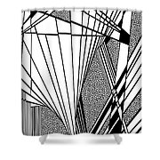 Gritting Shower Curtain