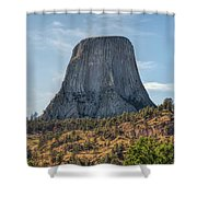 Grizzly Bear Lodge Shower Curtain