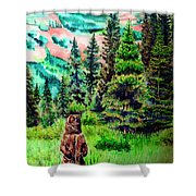 Grizzly Country Shower Curtain
