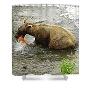 Grizzly Great Catch Shower Curtain