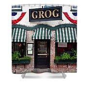 Grog Shower Curtain