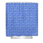 Groningen City Sign Shower Curtain