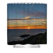 Gros Cap Sunset Shower Curtain