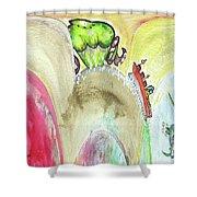 Grosse Vague / Big Wave  Shower Curtain