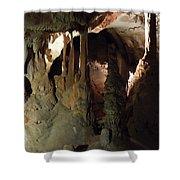 Grotte Magadaleine South France  Shower Curtain