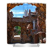 Grotto Of Redemption In Iowa Shower Curtain