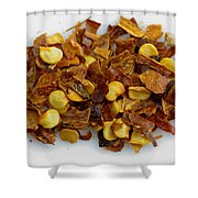 Ground Cayenne Pepper Shower Curtain
