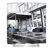 Ground Zero Shower Curtain