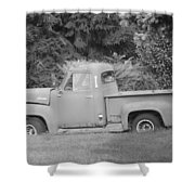 Grounded Pickup Shower Curtain