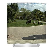 Grounds For Sculpture Shower Curtain