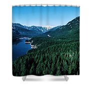 Grouse Mountain Shower Curtain