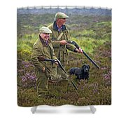 Grousing Scotland Nbr 1 Shower Curtain