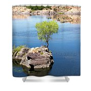 Grow Where You're Planted Shower Curtain
