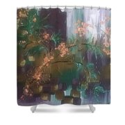 Growing In Layers Shower Curtain